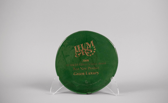 2008 IHM&RS Editor's Choice Award - Best New Product Green Luxury