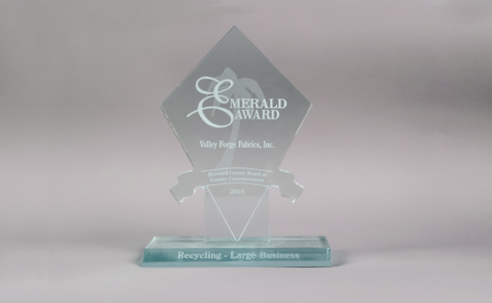 Emerald Award Recycling - Large Business